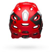 CASCO BELL SUPER DH MIPS ROSSO DIETRO