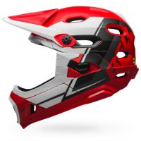 CASCO BELL SUPER DH MIPS ROSSO