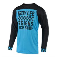 MAGLIA TROY LEE DESIGNS AIR SKYLINE LS CHECKER