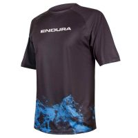 ENDURA SINGLETRACK PRINT T MOUNTAINS LTD