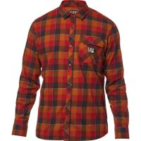 CAMICIA FOX ROWAN STRETCH FLANNEL RED S