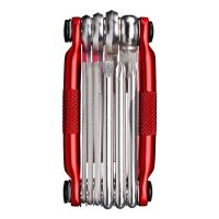 CRANK BROTHERS 10 MULTITOOL DARK RED