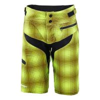 TLD DONNA SKYLINE PLAID LIME GREEN FRONT