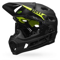 CASCO BELL SUPER DH MIPS NERO SINISTRA