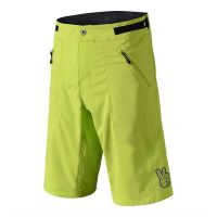 pantaloni tld skyline short lime davanti