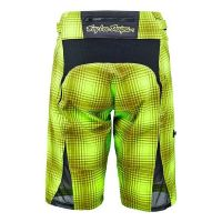 TLD DONNA SKYLINE PLAID LIME GREEN RETRO