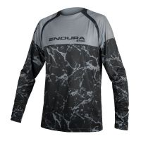 ENDURA MT500 MARBLE LS LTD NERO FRONTE