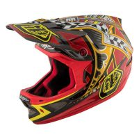 CASCO TROY LEE DESIGNS D3 LONGSHOT CARBON MIPS 2017