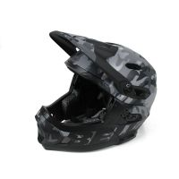 CASCO BELL SUPER DH MIPS NERO CAMOUFLAGE