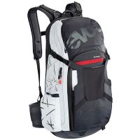 EVOC FR TRAIL UNLIMITED BLK/WHITE M/L