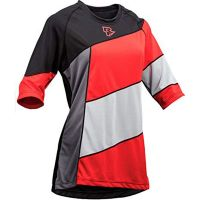 MAGLIA RACE FACE 3/4 DONNA KHYBER ROSSO