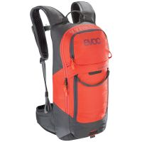 EVOC FR LITE RACE CARBON GREY ORANGE M/L