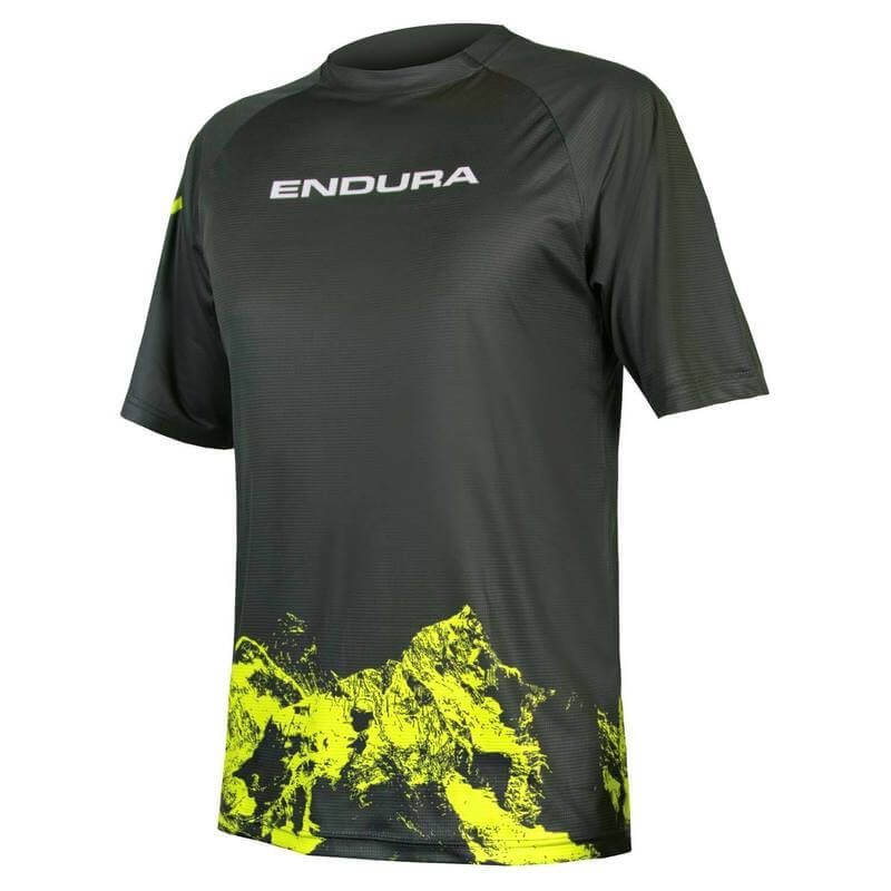 MAGLIA ENDURA SINGLETRACK PRINT T MOUNTAINS LTD