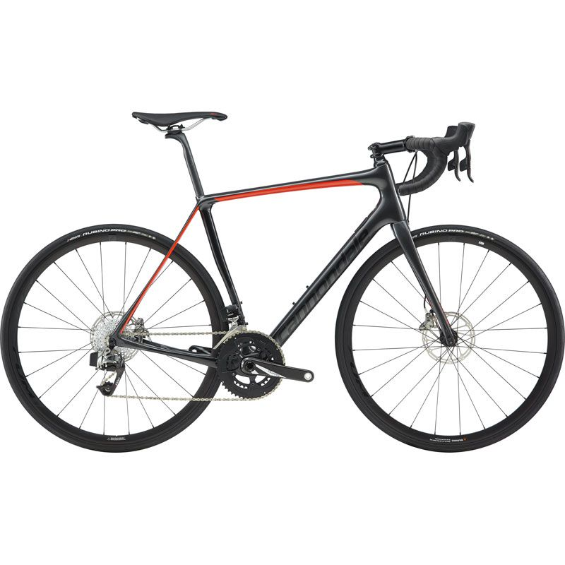 BICI CANNONDALE SYNAPSE CARBON DISC RED ETAP 2019
