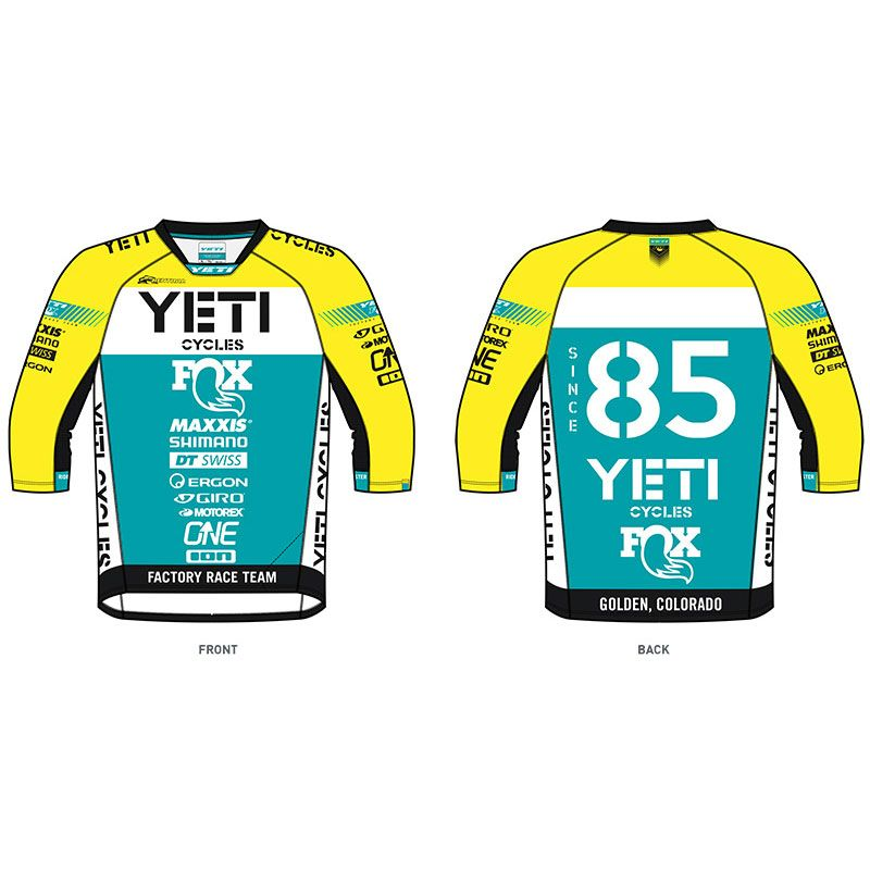 YETI A. Jersey WC Replica Retro Spec
