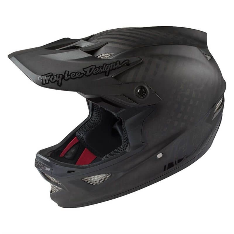 CASCO TROY LEE DESIGNS D3 MIDNIGHT CARBON MIPS 2018