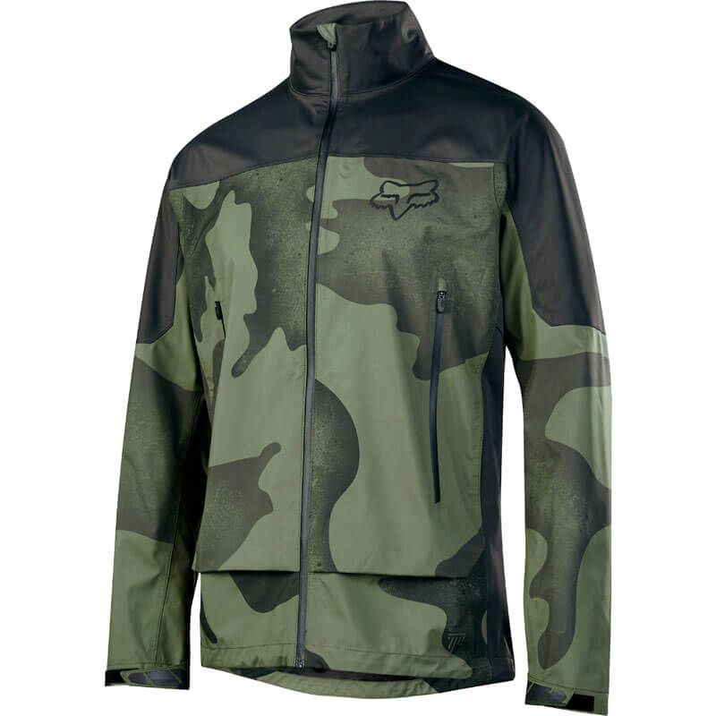GIACCA FOX ATTACK WATER JACKET CAMU