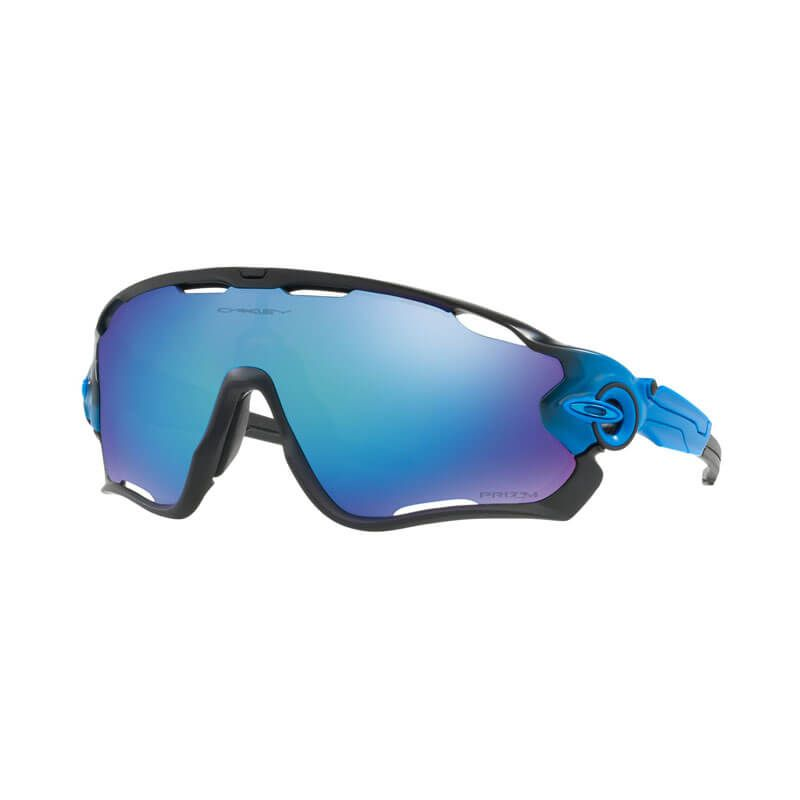 OCCHIALI OAKLEY JAWBREAKER PRIZM POLARIZED SAPPHIRE FADE COLLECTION OO9290-2231