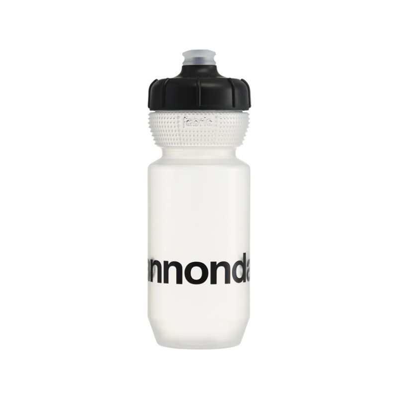 CANNONDALE LOGO GRIPPER BOTTLE BIANCO
