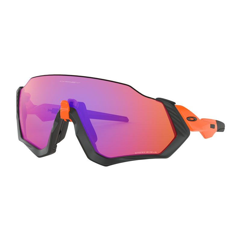 OCCHIALI OAKLEY FLIGHT JACKET PRIZM TRAIL OO9401-0437