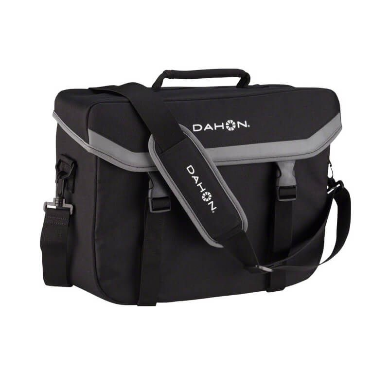 BORSA DAHON ATTACHE COMPUTER BAG CON GANCI