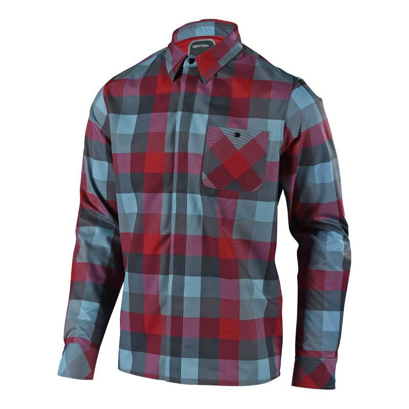 CAMICIA TROY LEE DESIGNS GRIND FLANNEL PLAID