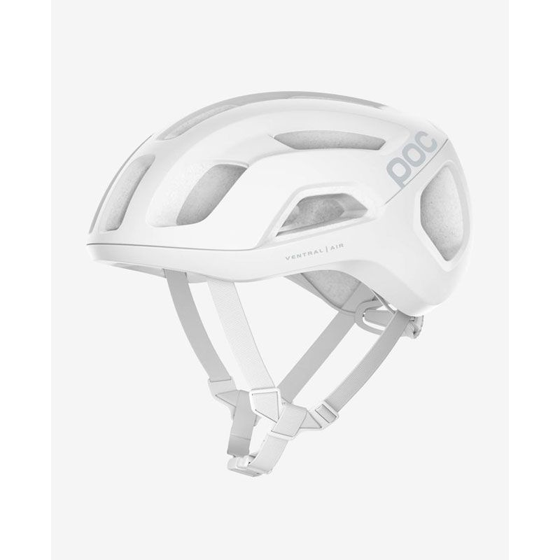 POC VENTRAL AIR SPIN BIANCO LATERALE