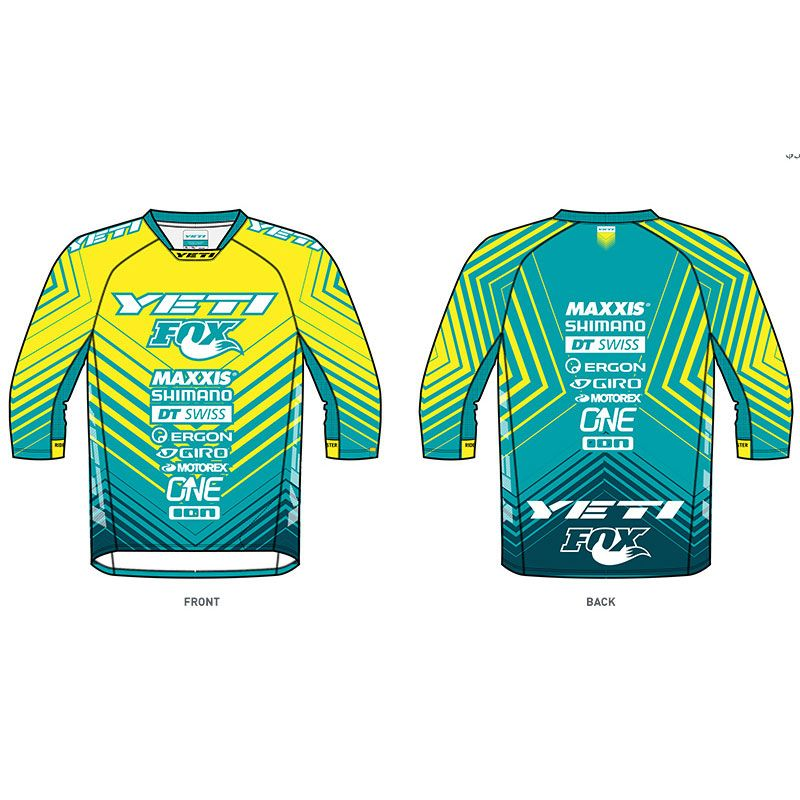 YETI A. Jersey WC Replica Psycho stripes