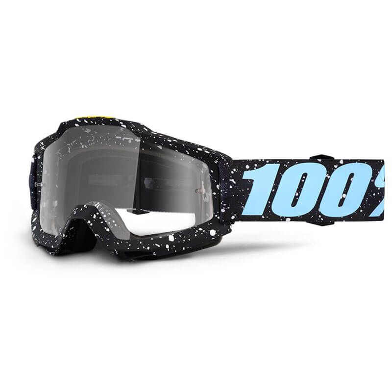 MASCHERA 100% ACCURI MILKYWAY CLEAR LENS