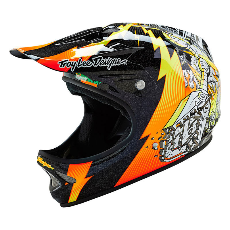 CASCO Troy Lee Designs D2 INVADE 2016