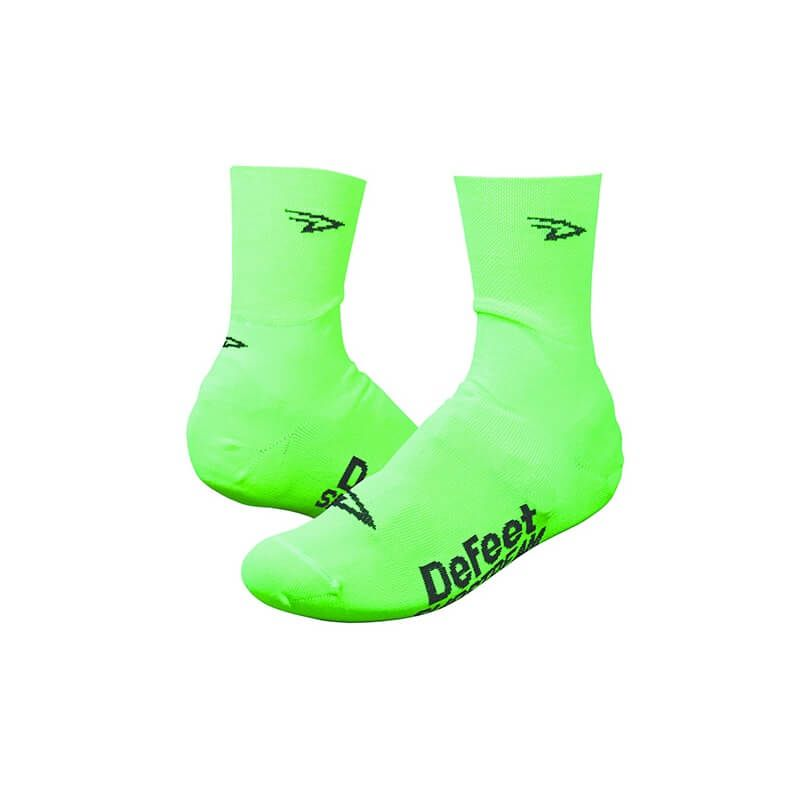 DEFEET SLIPSTREAM D-LOGO HIGHVIS VERDE