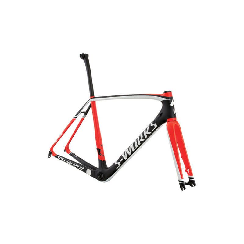 TELAIO SPECIALIZED S-WORKS TARMAC DISC CARBON/ROSSO/BIANCO TG.54