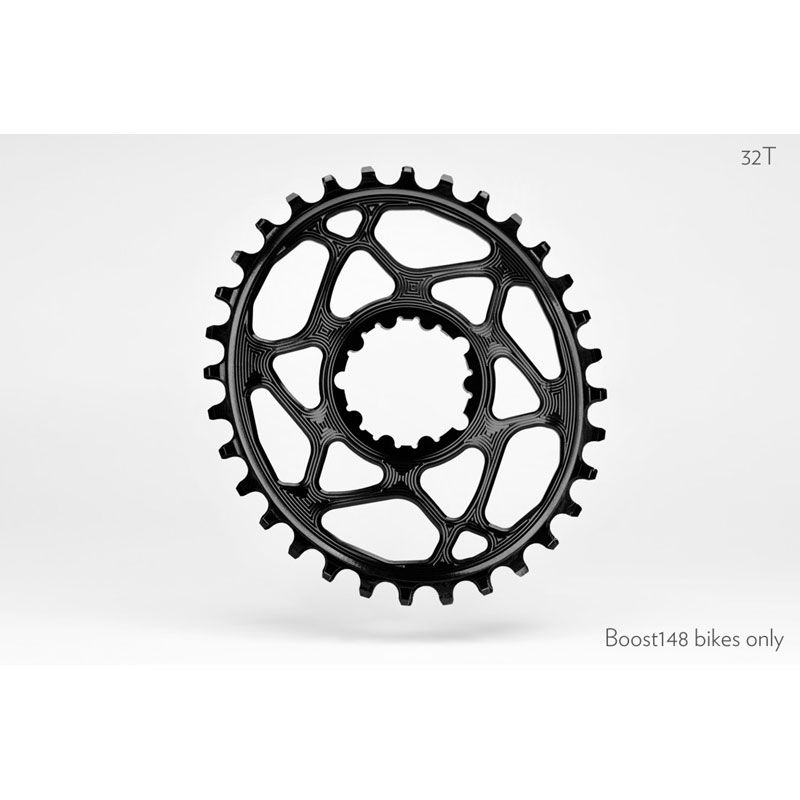 CORONA OVALE ABSOLUTE BLACK SRAM DM BOOST