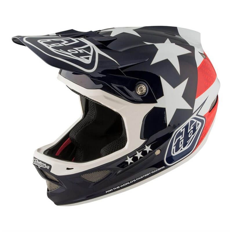 CASCO TROY LEE DESIGNS D3 FREEDOM CARBON MIPS