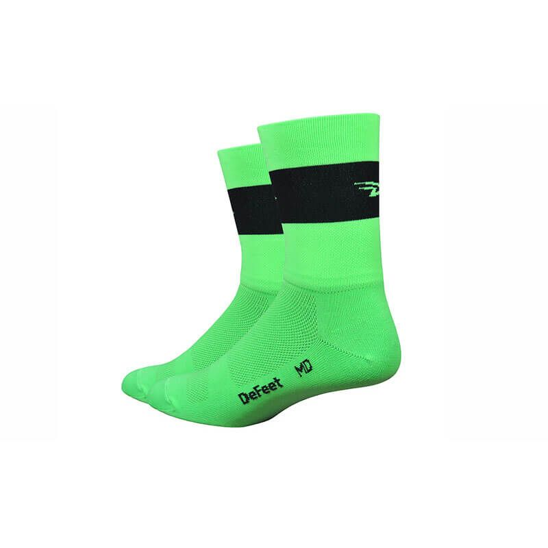 CALZE DEFEET AIR5 TEAM verde
