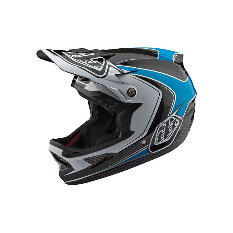 CASCO TROY LEE DESIGNS D3 CARBON MIPS MIRAGE 2018