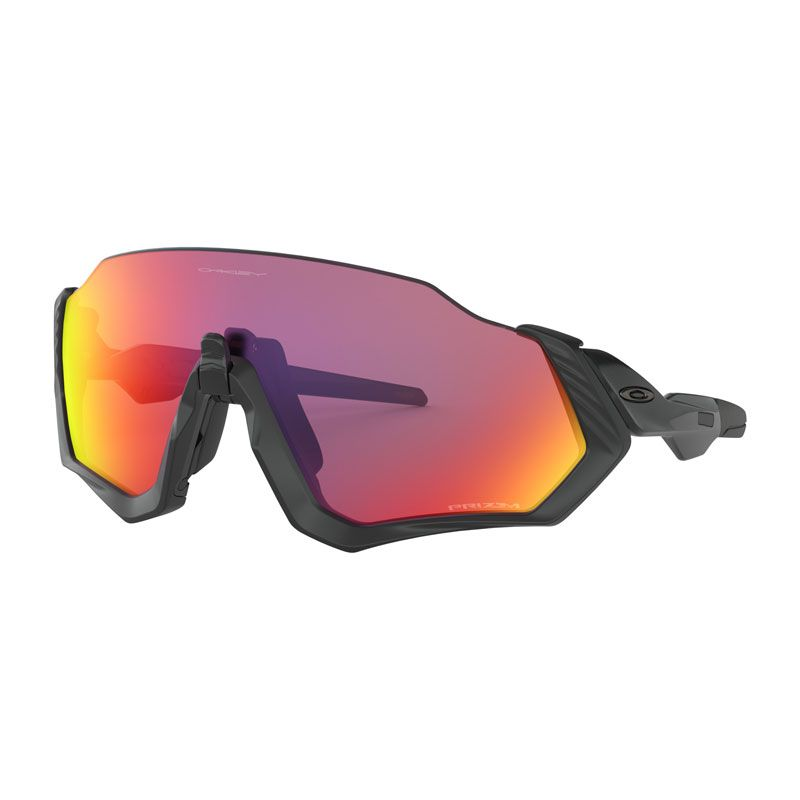 OCCHIALI OAKLEY FLIGHT JACKET MBLK/BLK W/PRIZM ROAD OO9401-0137