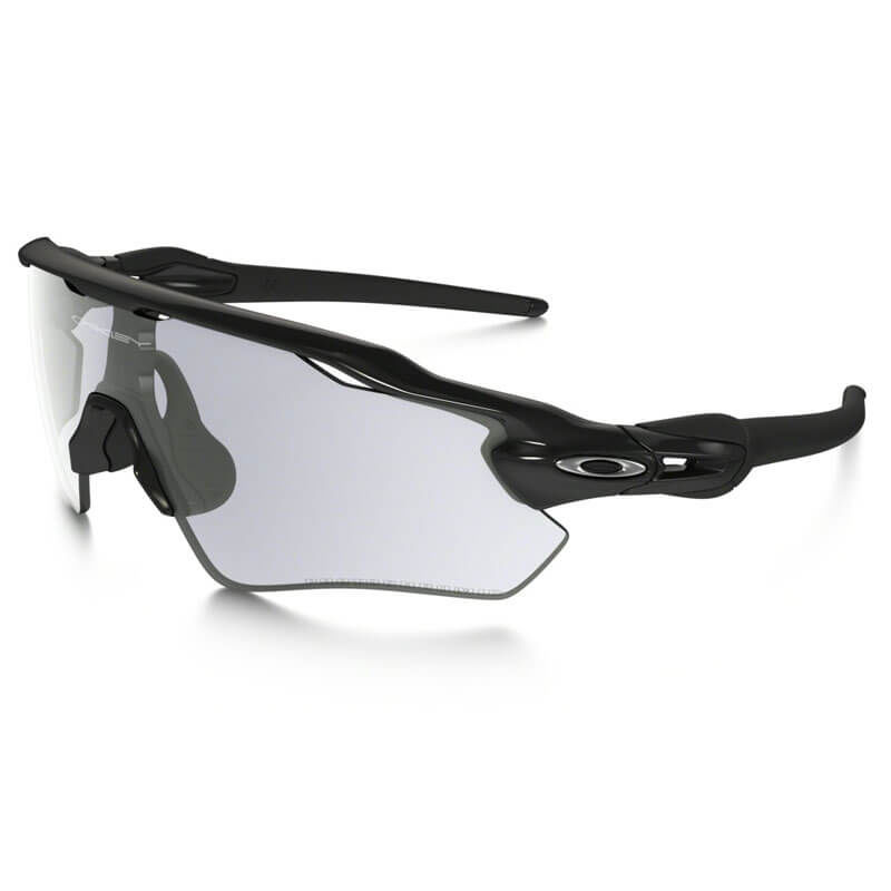 OCCHIALI OAKLEY RADAR EV PATH POL BLACK W/CLR/BLK PHOTO OO9208-45